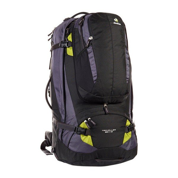 Рюкзак Deuter Traveller, 80 + 10 л, black-moss