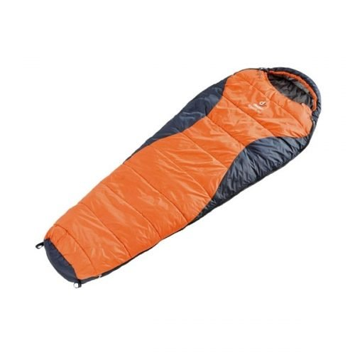 Спальный мешок Deuter Dream Lite 400, sun orange-midnight, правый