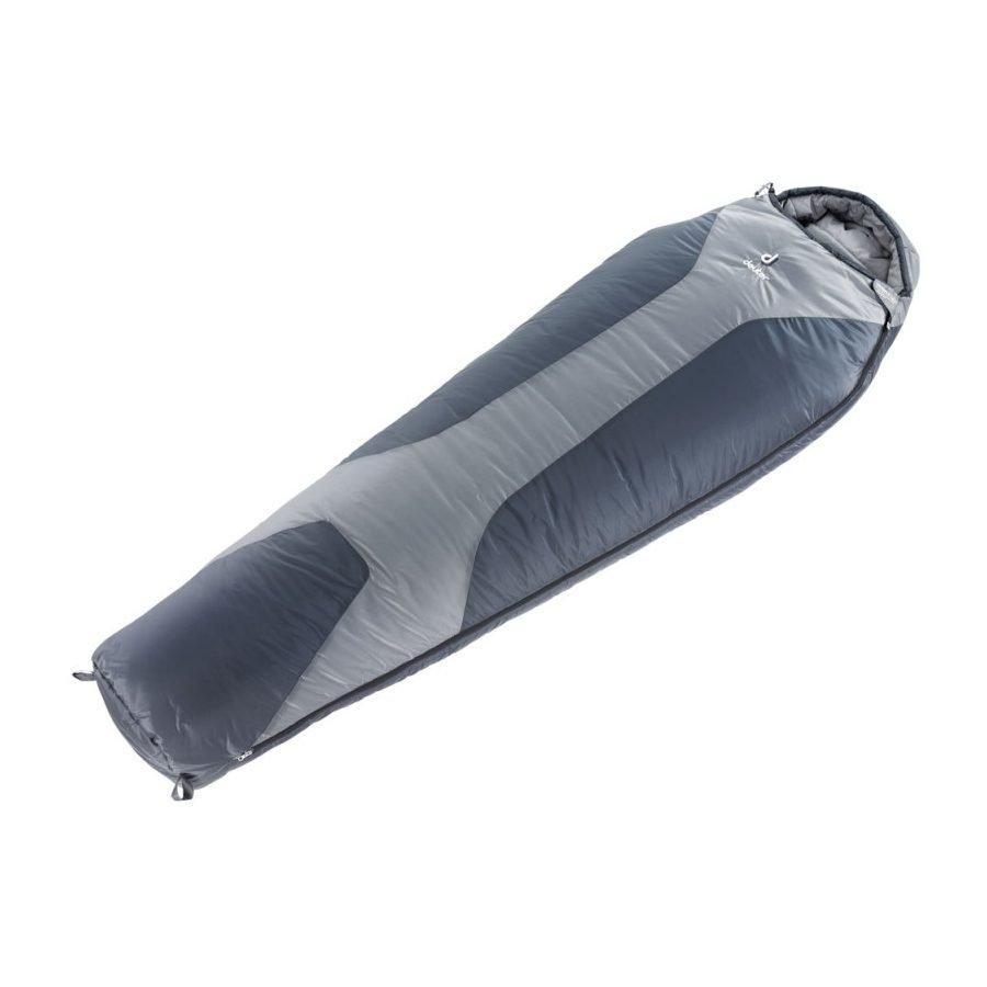 Спальный мешок Deuter Orbit -5 L, silver-anthracite, правый