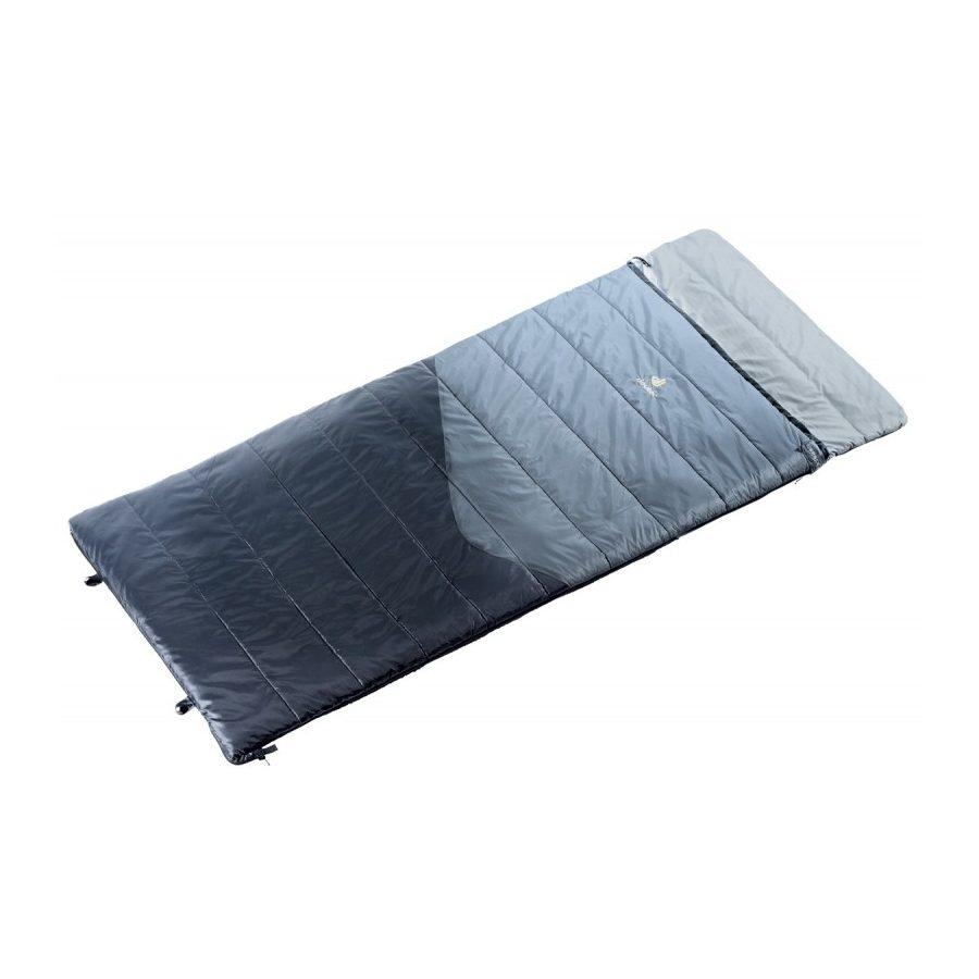 Спальный мешок Deuter Space II, titan-black, правый