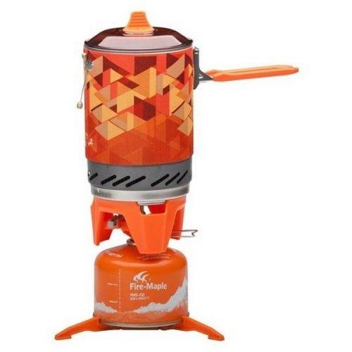 Система приготовления пищи Fire-Maple FMS-X2 оранжевая