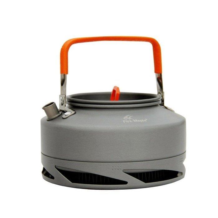 Чайник с теплообменником Fire-Maple FMC-XT1 оранжевые ручки 0.9 л