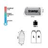 Спальный мешок Tramp Mersey оранж / серый L TRS-038-L 29284