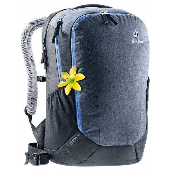 Рюкзак Deuter Giga SL цвет 4701 graphite-black молния синяя (3821118 4701)