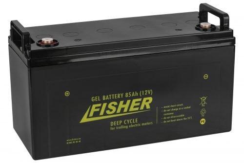 Аккумулятор для лодочного электромотора Fisher 85AH GEL