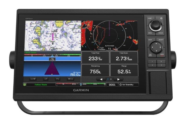 Эхолот-картплоттер Garmin GPSMAP 1022xsv