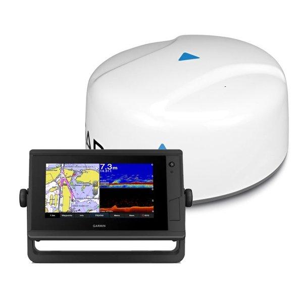 Эхолот-картплоттер Garmin GPSMap 722xs Plus с радаром GMR18HD +