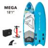Надувная SUP доска 18.1 Aqua Marina Mega