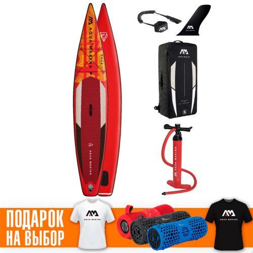 Надувная SUP доска 12.6 Aqua Marina Race BT-21RA01