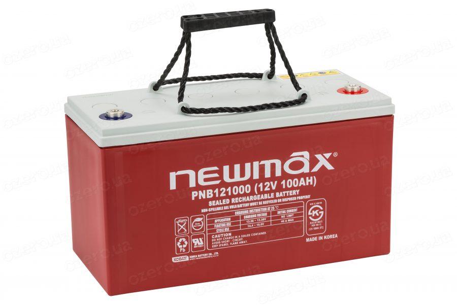 Аккумулятор для лодочного электромотора Newmax PNB 121000