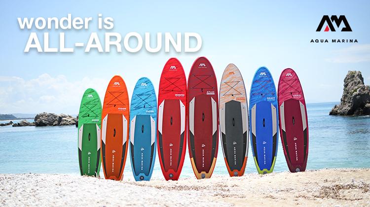 Новое поступление САП-досок Aqua Marina и аксессуаров для SUP-серфинга!