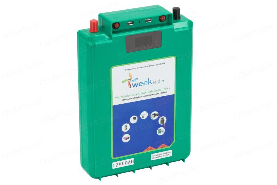 Литий-ферумный аккумулятор Weekender 12V60Ah LiFePO4