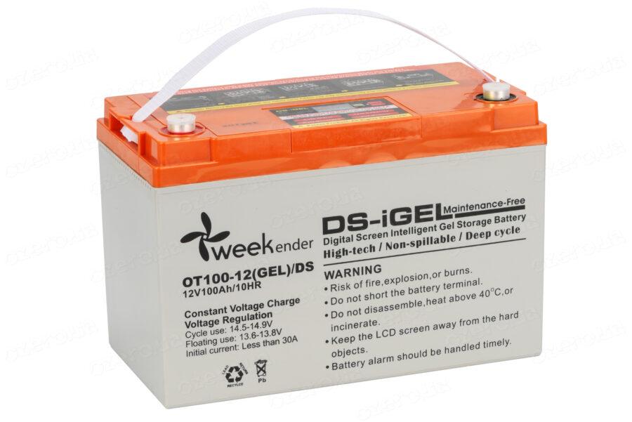 Аккумулятор для лодочного электромотора Weekender 12V100AH DS GEL