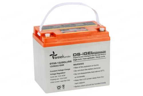 Аккумулятор для лодочного электромотора Weekender 12V80AH DS GEL