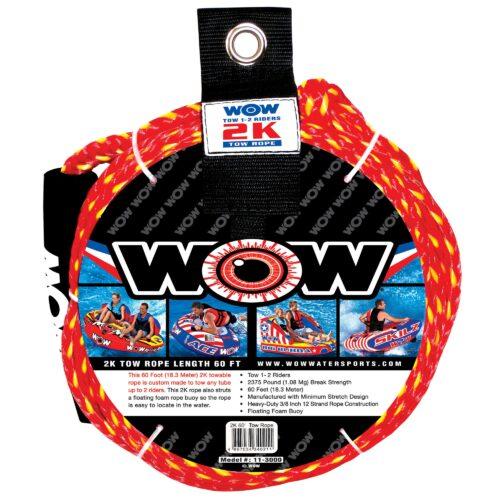 Буксировочный фал для плюшек 18 м WOW 11-3000