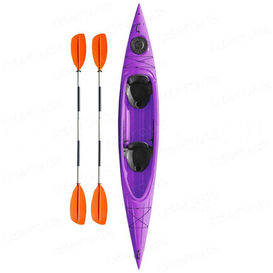Каяк Riverday Twin-GO! Purple
