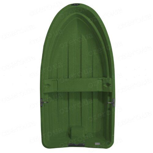 Пластиковая лодка Riverday RKM-250 Green