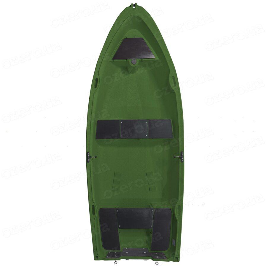 Пластиковая лодка Riverday RKM-350 Green
