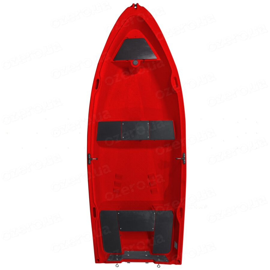 Пластиковая лодка Riverday RKM-350 Red