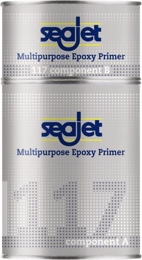 Универсальная эпоксидная грунтовка SEAJET 117 белая 1л